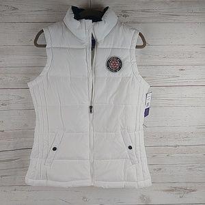 New white Madden girl vest M